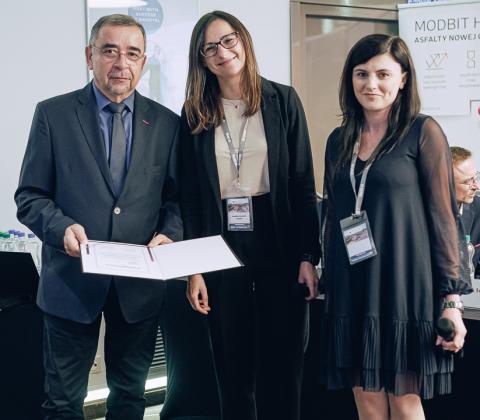 Podziękowania dla firmy CEMA, partnera konferencji