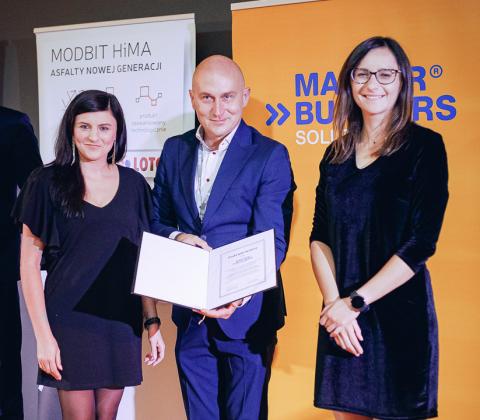 Podziękowania dla Master Builders Solutions, partnera szmaragdowego konferencji