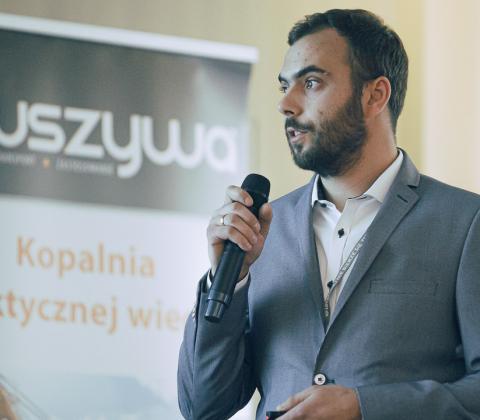 Krystian Kania, przedstawiciel Polskiego Stowarzyszenia Wykonawców Nawierzchni Asfaltowych